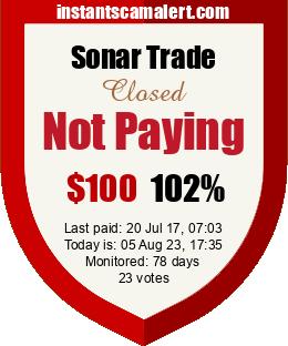 instantscamalert.com - hyip sonar trade